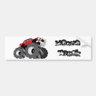 Monster truck adesivo para carro