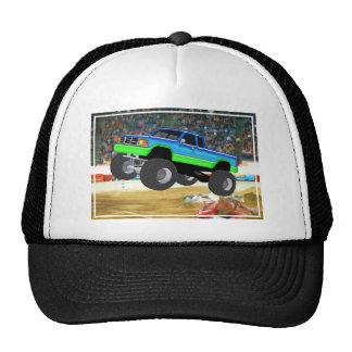 Monster truck maravilhoso na arena boné