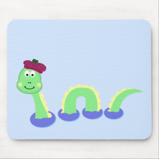 Monstro de Loch Ness Mousepad