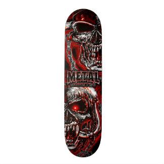 Monstro do metal pesado shape de skate 18,1cm