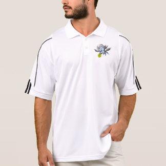 Monstro do PÓLO de VAM BARAKA Camisa Polo