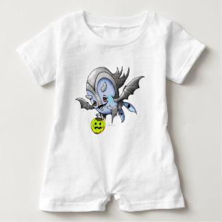 Monstro do ROMPER do BEBÊ de VAM BARAKA Macacão Para Bebê