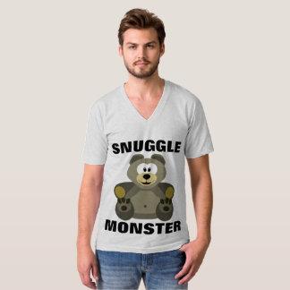 MONSTRO do SNUGGLE, camisetas engraçadas