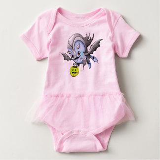 Monstro do TUTU do BEBÊ de VAM BARAKA Body Para Bebê