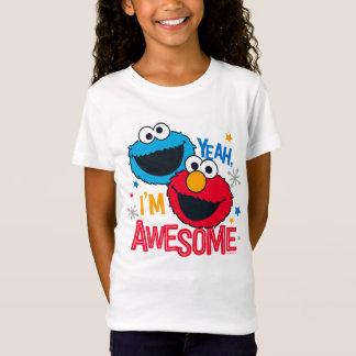 Monstro & Elmo do biscoito | yeah, eu sou Camiseta