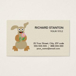 Monstro engraçado cartão de visitas