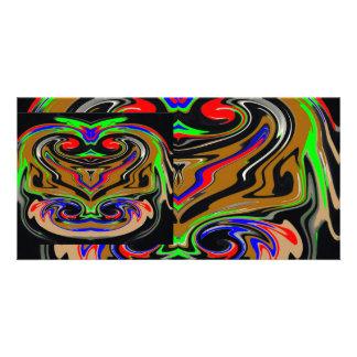 Monstro GÊMEOS 2 do DIA DAS BRUXAS Cartão Com Foto