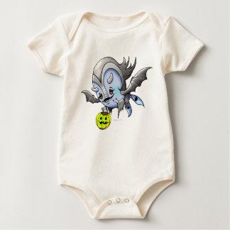 Monstro ORGÂNICO do BODYSUIT de VAM BARAKA Body Para Bebê