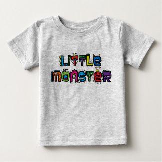 Monstro pequeno - o texto Doodles o t-shirt Camiseta Para Bebê