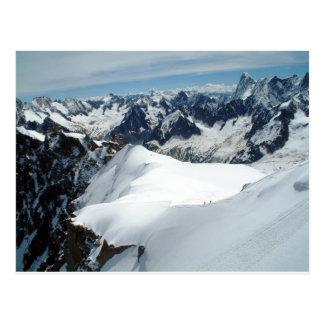 Mont Blanc, cartão de France