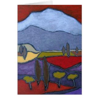 Mont Ventoux mim cartão da arte