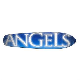 Montada na velha escola dos anjos shape de skate 20cm