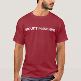 Montagem agradável camiseta