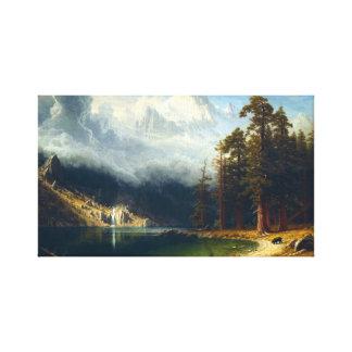 Montagem Corcoran de Bierstadt