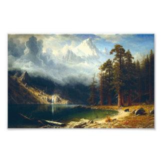 Montagem Corcoran de Bierstadt Impressão De Foto