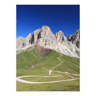 Montagem de Dolomiti - de Sassolungo Convite Personalizados