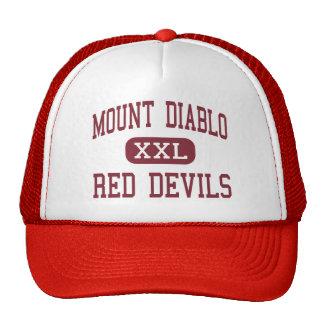 Montagem Diablo - diabos vermelhos - alto - concór Boné