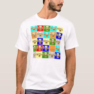 montagem do logotipo do aletalk camiseta