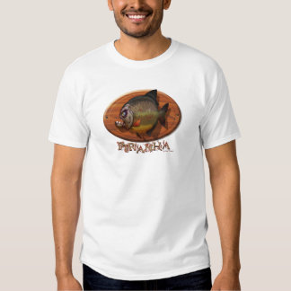 Montagem do Piranha T-shirt