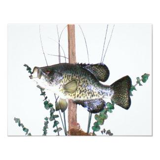 Montagem do tipo de peixe convite 10.79 x 13.97cm