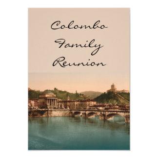 Montagem dos Capuchins, Turin, Piedmont, Italia Convite Personalizado