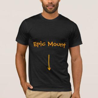 Montagem épico camiseta