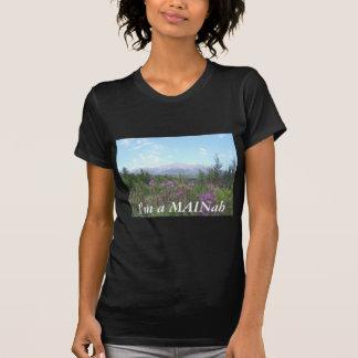 Montagem Katahdin e Wildflowers T-shirts