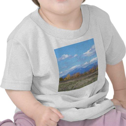 Montagem Katahdin na queda 1 Camiseta