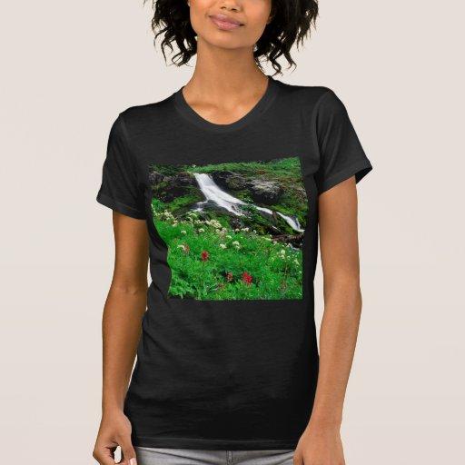 Montagem legal Adams da cachoeira Camiseta