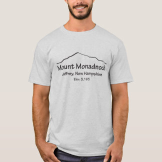 Montagem Monadnock Camiseta
