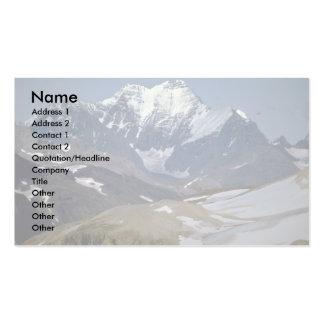 Montagem Russell, Alaska Cartão De Visita