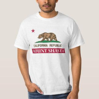 Montagem Shasta Califórnia T-shirts