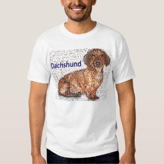 Montagem surpreendente do cão do Dachshund T-shirt
