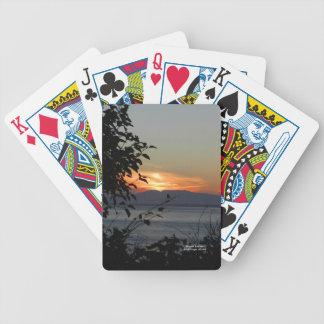 Montagem Susitna Alaska/ Baralhos De Pôquer