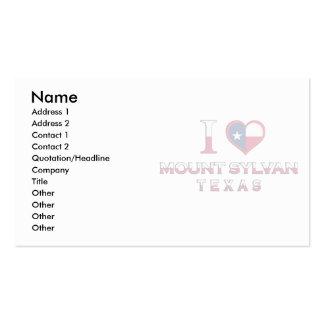 Montagem Sylvan, Texas Cartão De Visita