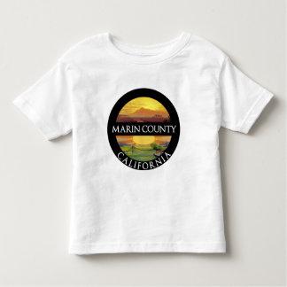 Montagem Tamalpais de Marin County Camisetas
