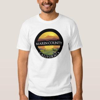 Montagem Tamalpais de Marin County Tshirts