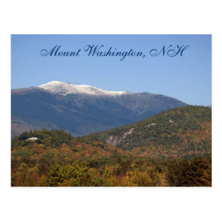 Montagem Washington, cartão    do NH