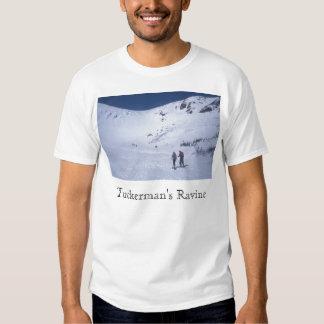 Montagem Washington de Skiiers da ravina de Camisetas