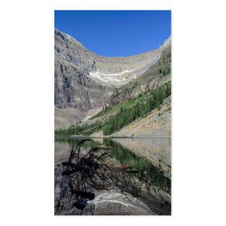 Montagem Whyte Alberta Canadá de Agnes do lago Cartão De Visita