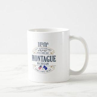 Montague, caneca do aniversário de Michigan 150th