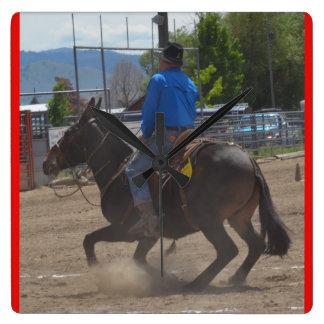 Montana mula dias junho de 2016 relógio quadrado