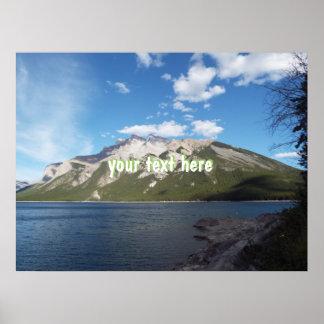 Montanha de Banff Poster
