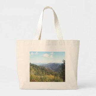 Montanha de grande enfumaçado Vista 1 Bolsa Para Compra