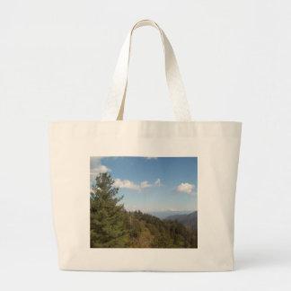 Montanha de grande enfumaçado Vista 3 Bolsa Para Compra