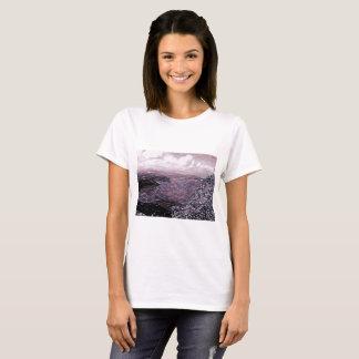 Montanha de Montanhas Rochosas no lápis Camiseta