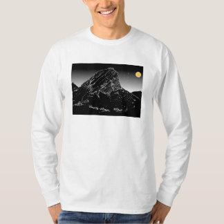 Montanha do Cair-Klip de Klein, Rooiels. Céu da Camiseta