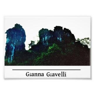 Montanha do camelo em China Fotografia