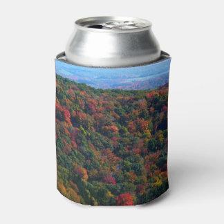 Montanhas apalaches na fotografia da natureza da porta-lata