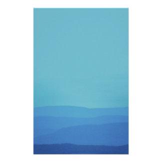 Montanhas azuis que Wedding Papel Personalizado